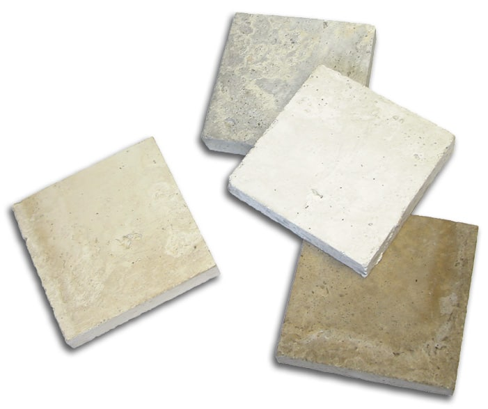 Custom concrete paver colors