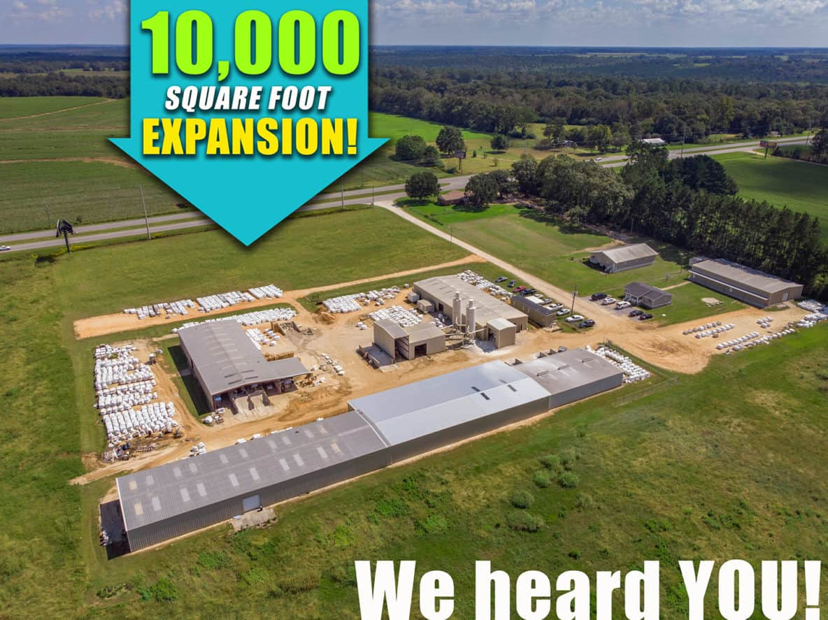 Peacock Pavers Plant Expansion