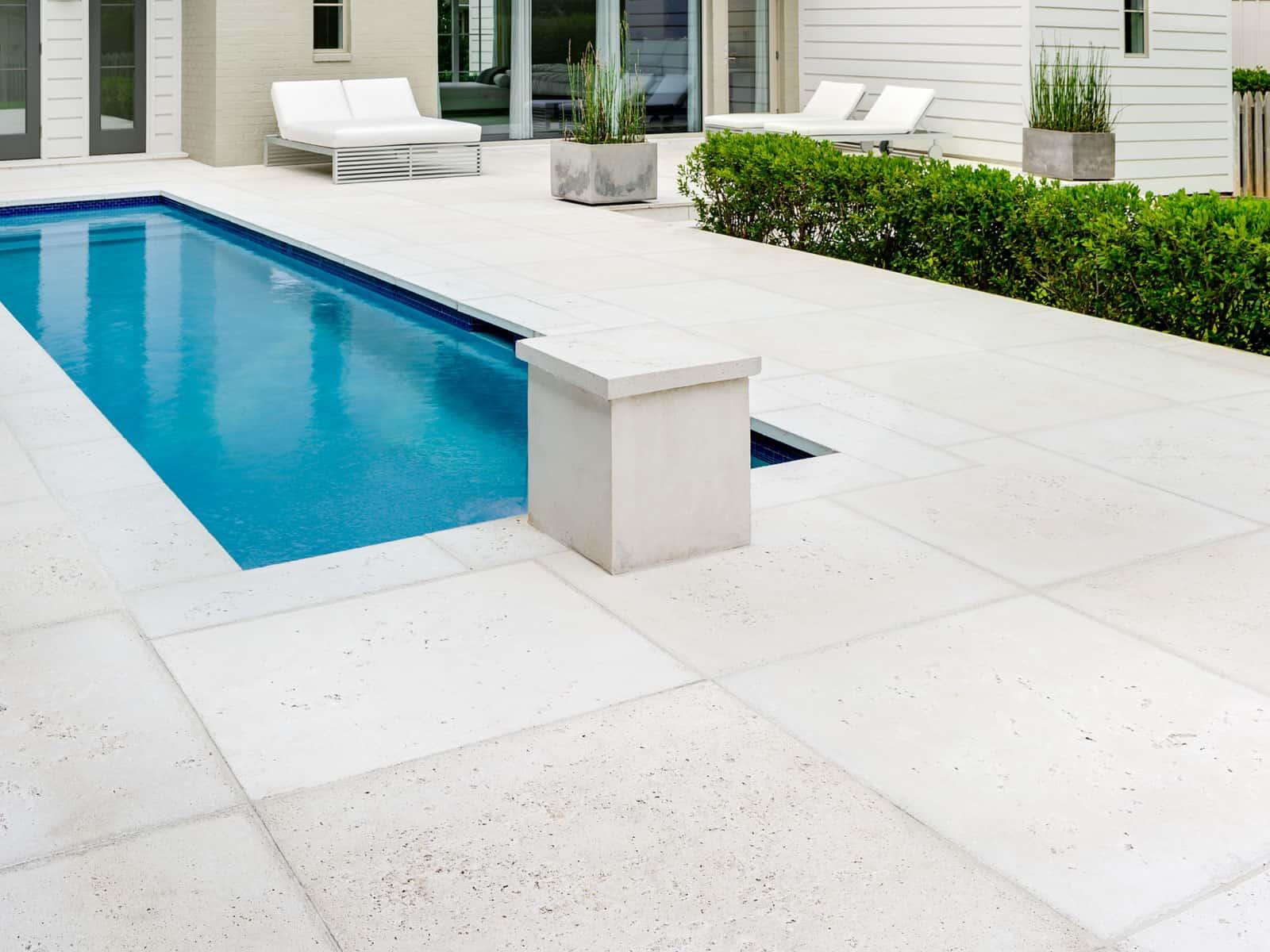 Concrete Pavers For Pools Poolside Concrete Paving