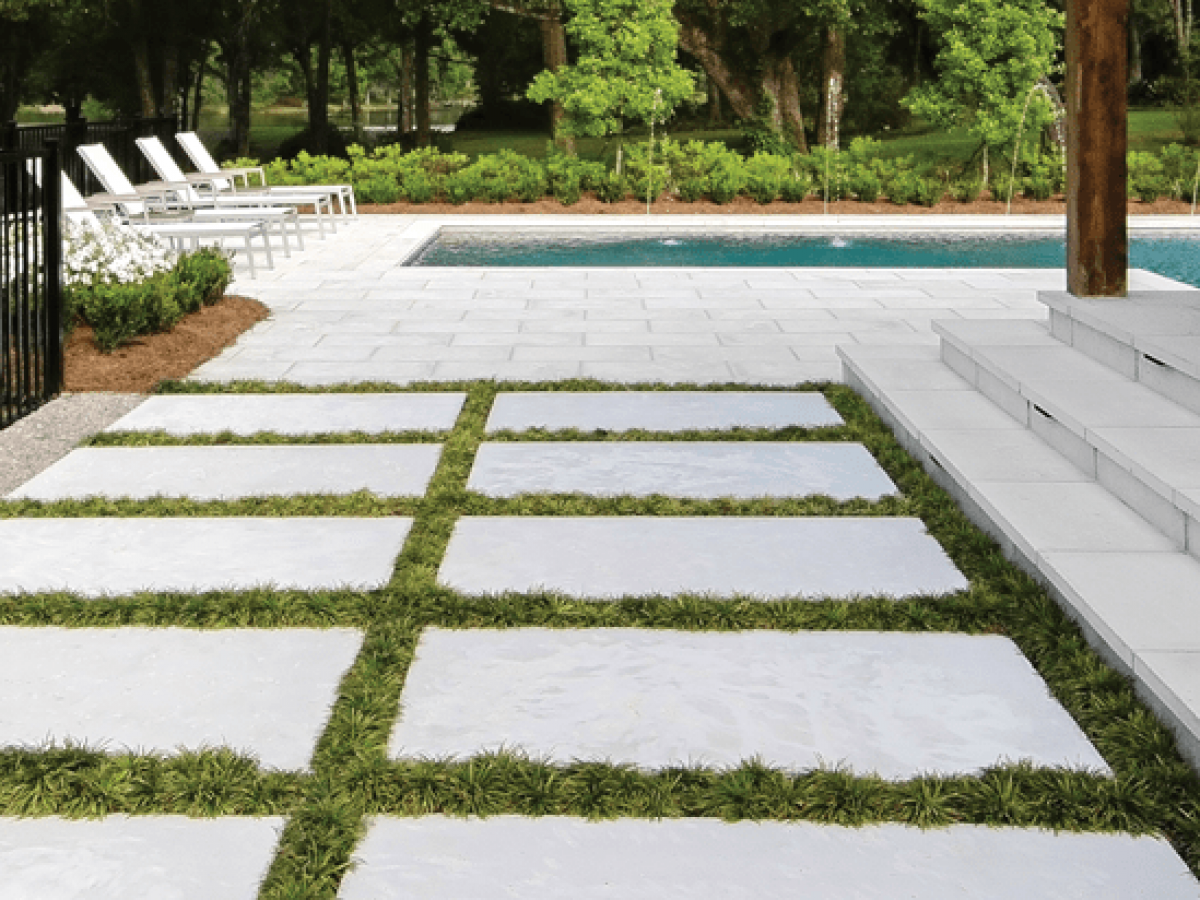 6 Tips For Designing With Large Concrete Pavers Handcrafted Concrete Pavers