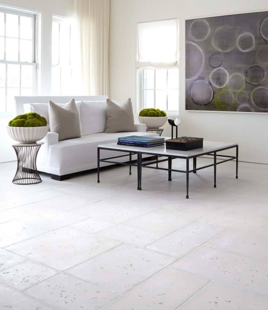 Indoor Concrete Flooring That Looks Like Natural Stone