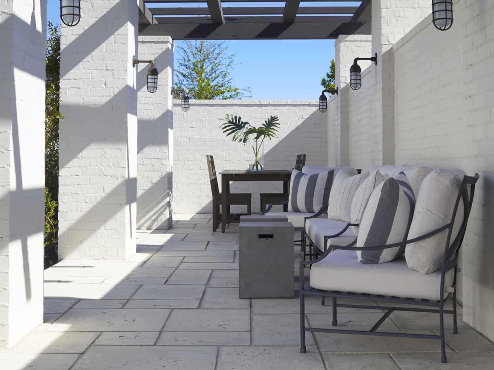 Oyster Color Patio Tiles