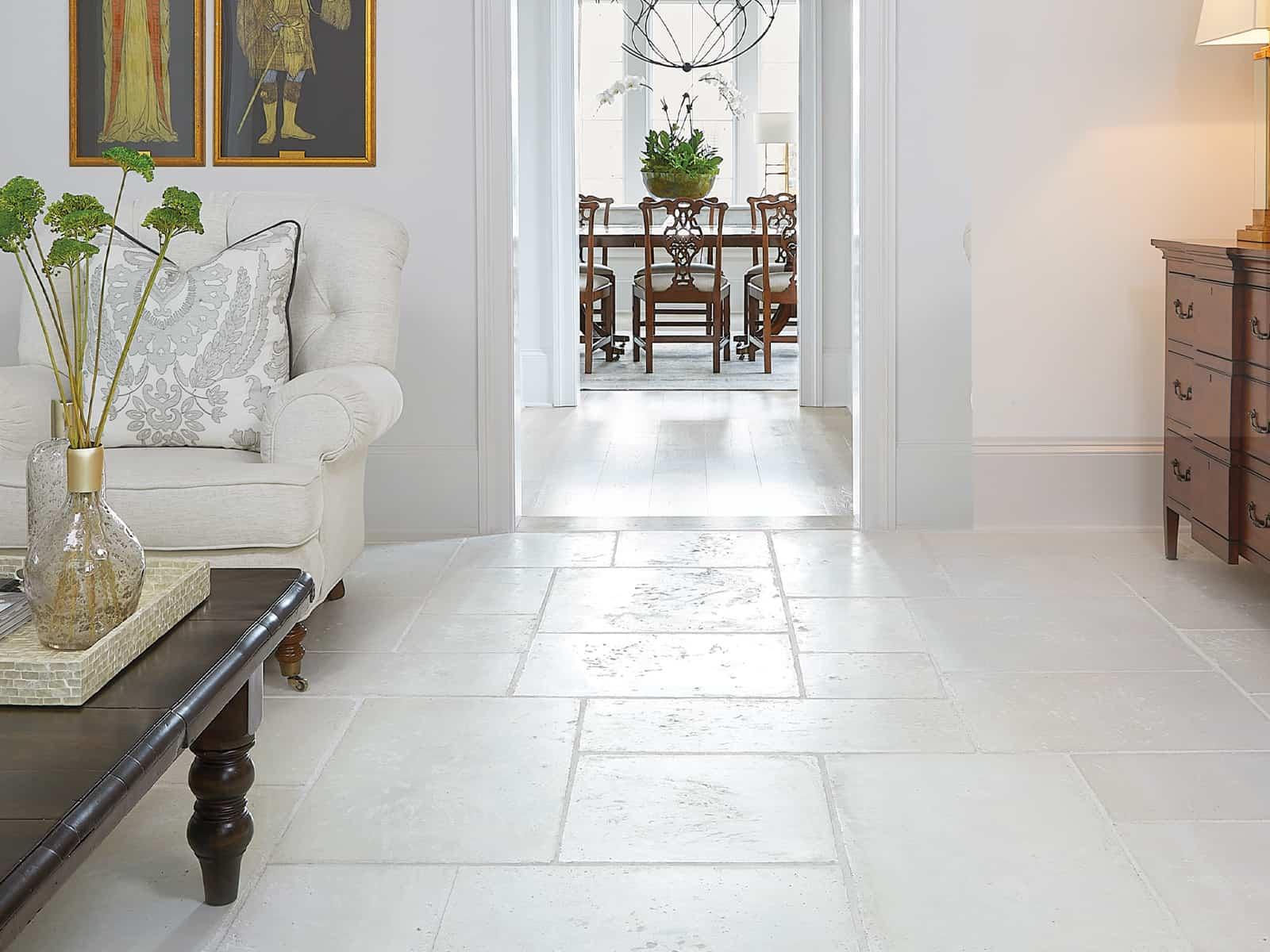 Custom Rice White Indoor Tiles